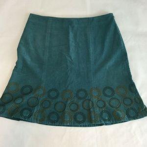 Boden Skirt Women's Sz US 12R Corduroy A-Line